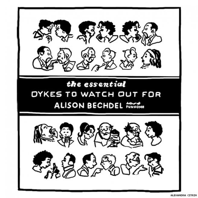 5. The Essential Dykes to Watch Out For by Alison Bechdel