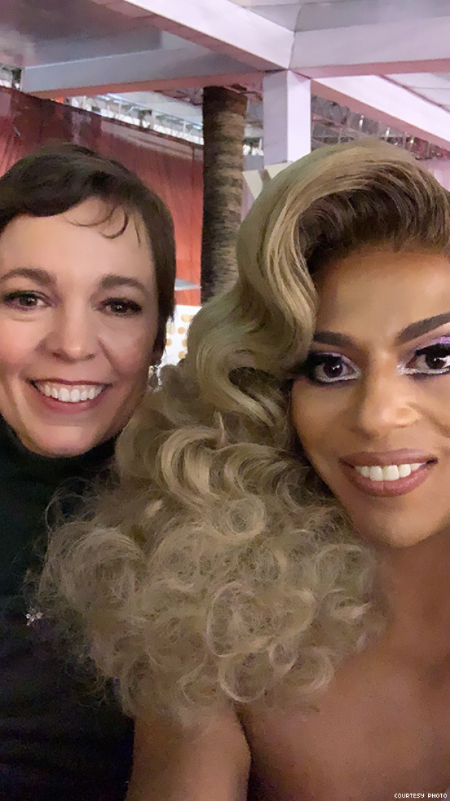 shangela and olivia coleman