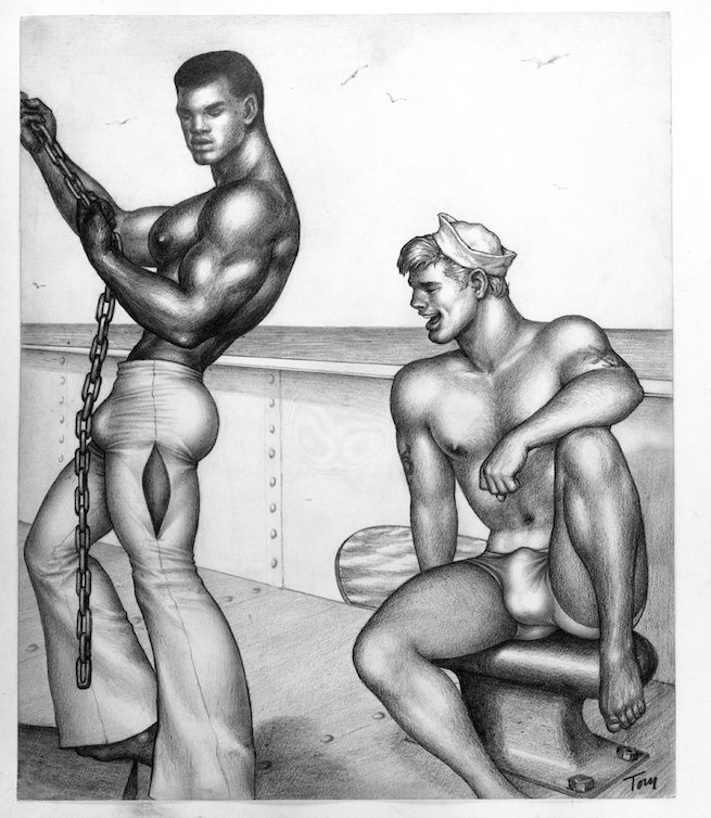 tom of finland black men