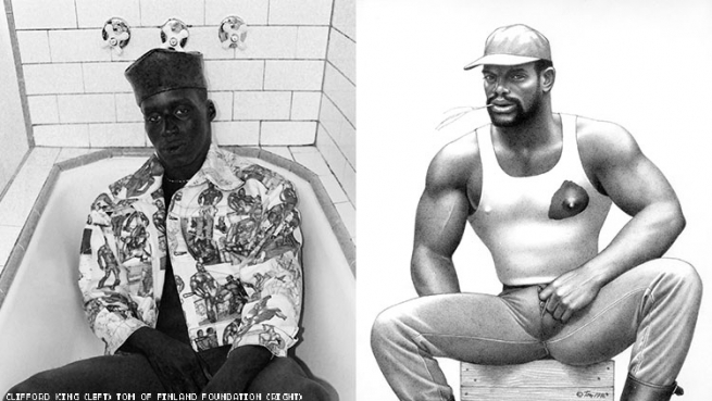 tom of finland black man