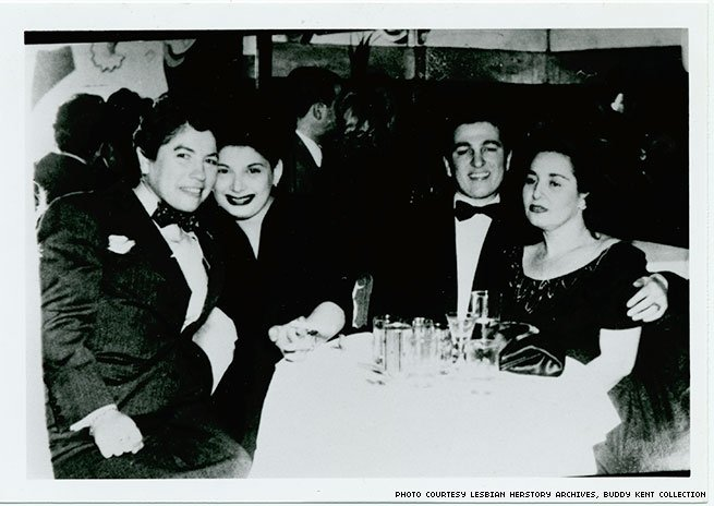 1940s - Four women on a night out on the town