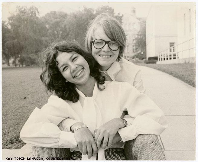 1972 - A couple at the National Student Association meeting in Washington