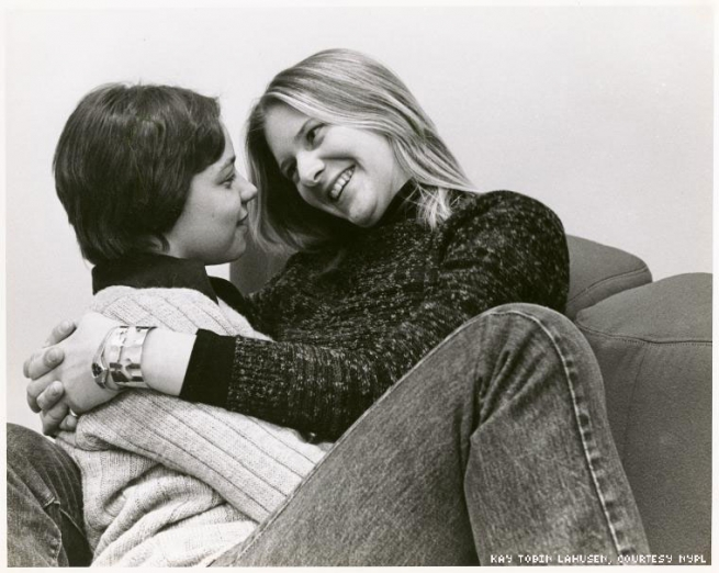 1977 - A couple at Radford College in Virginia