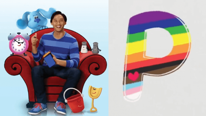 Blue's Clues and You P is for Pride