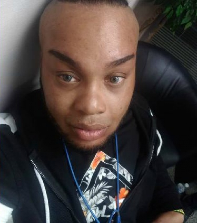 """Brian """"Egypt"""" Powers, 43, a Black transgender man, was shot to death in Akron, Ohio, on July 13."""