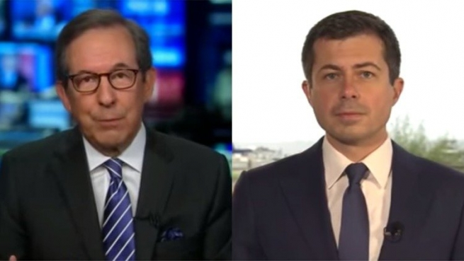Chris Wallace gets a lesson from Pete Buttigieg about Americans coming together.