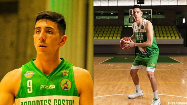 Daniel Arcos plays small forward in the top professional Chilean basketball league, and came out as gay in 2020.