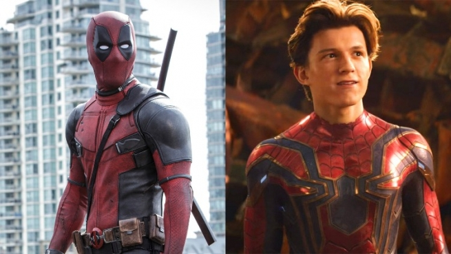 Deadpool and Peter Parker