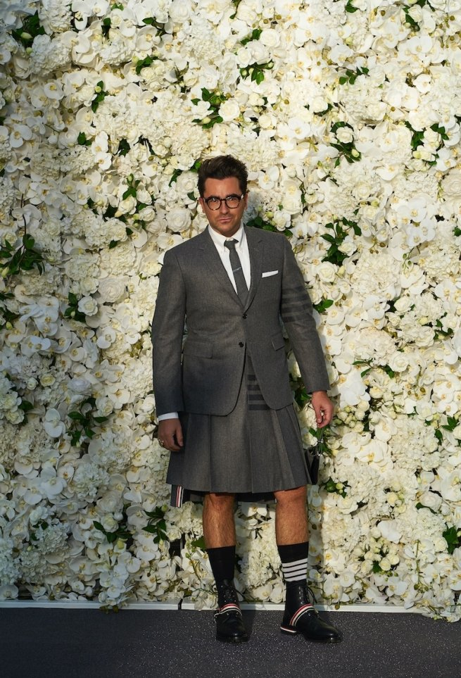 Dan Levy at 2020 Emmys
