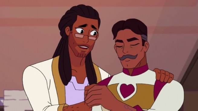 In honor of Father's Day, we've collected a few of our favorite gay TV dads