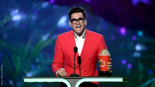 Dan Levy at the 2019 MTV Movie and TV Awards