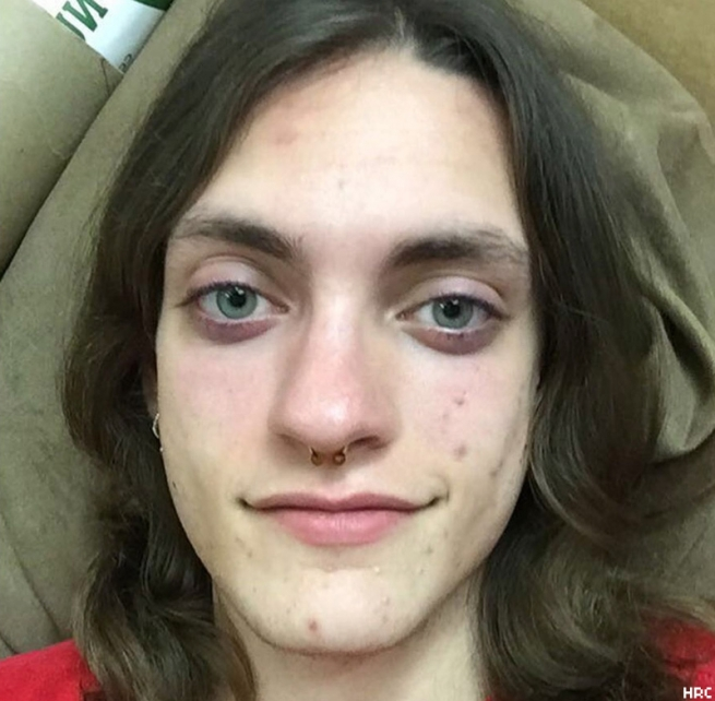 Helle Jae O'Regan, 20, a transgender woman, was stabbed to death as she prepared to open the Diesel Barbershop with two other employees in San Antonio, Texas, May 6.
