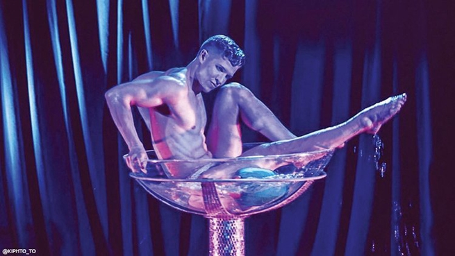 Jake DuPree, Boylesque Performer and Fitness Instructor, Los Angeles, CA