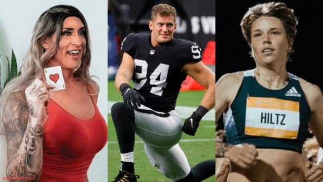 From professional wrestlers to professional football players, 2021 has been the year of the athletic queer, and we've got them all here!