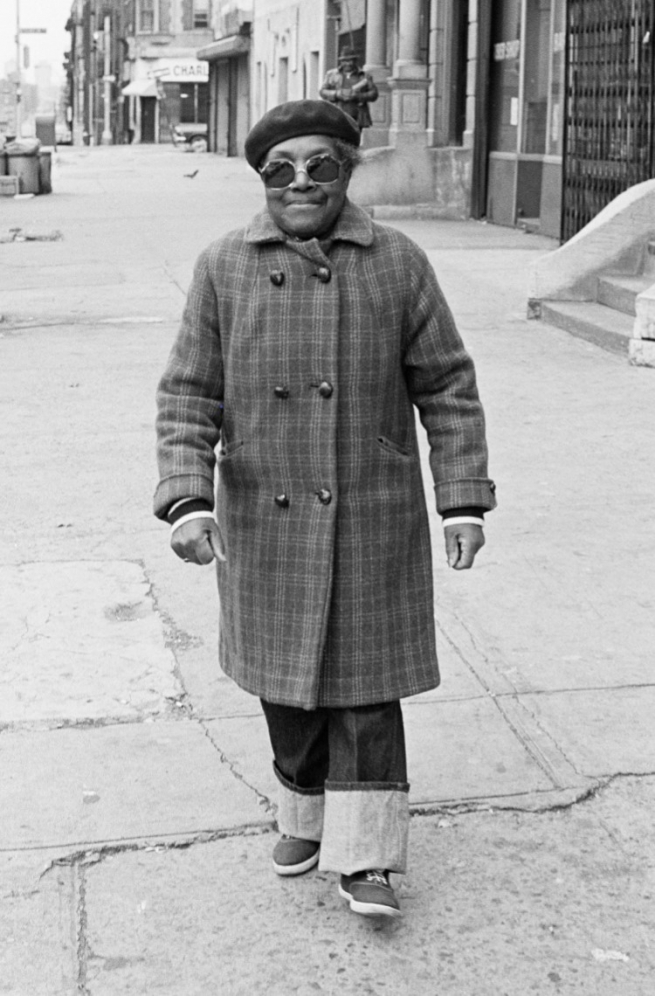 "Mabel, New York City, 1978, from 'Eye to Eye: Portraits of Lesbians"" by JEB (Joan E. Biren), 1979."