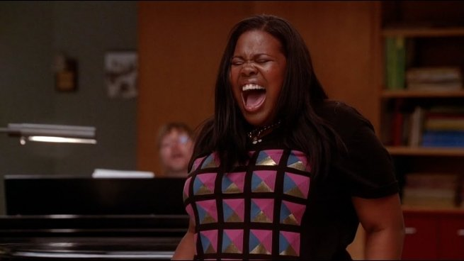 """Mercedes singing """"And I Am Telling You"""""""