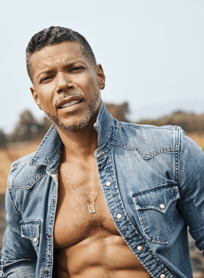Wilson Cruz in Out100 cover