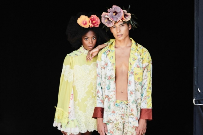 Genderfluid and sustainable sleepwear from WE ARE HAH.