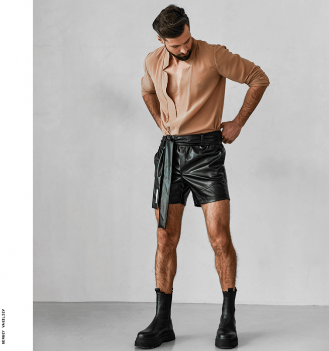 Check out the latest men's fashion line from designer Artem Gryshchenko and ORTTU