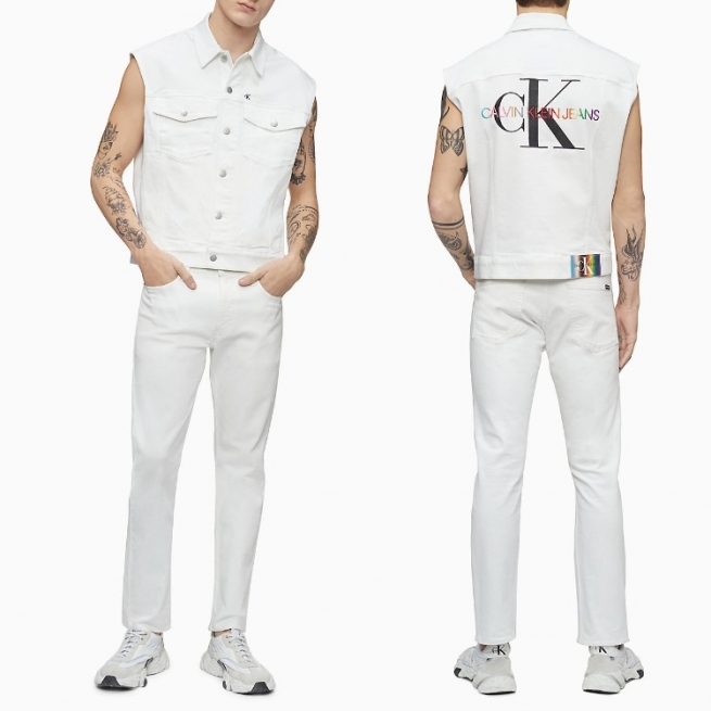 Calvin Klein's new 2021 Pride Collection of clothing and accessories