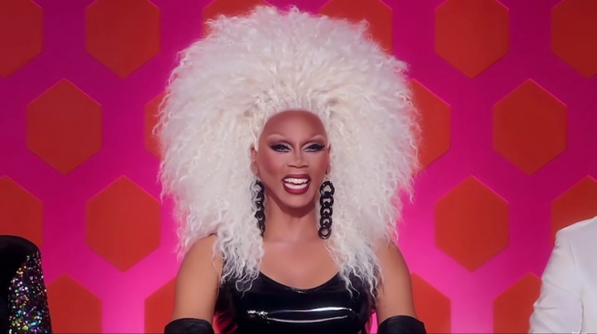 RuPaul in the Madonna Rusical