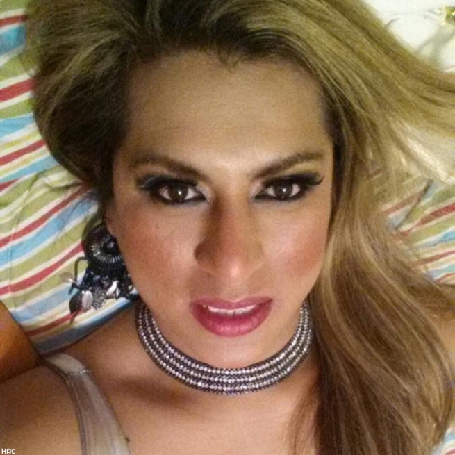 Selena Reyes-Hernandez, 37, a transgender woman, was shot and killed in Chicago, Illinois, May 31.