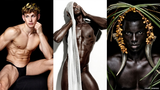 These Vibrant Images Show The Male Body As The Living Art It Is