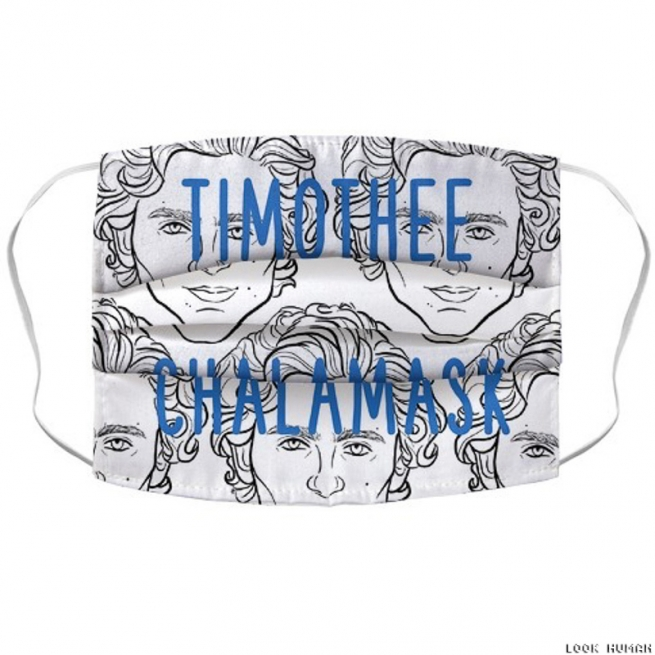 Timothee Chalamee 'Chalamask' Face Mask