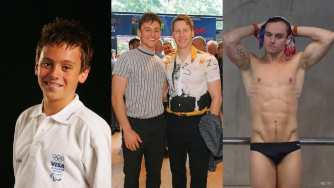 Tom Daley through the years