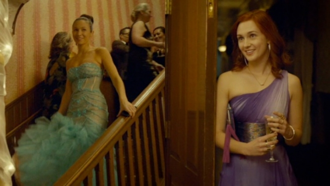 waverly and nicole in ball gowns