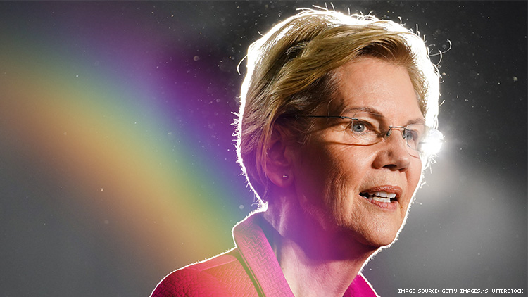 Exclusive: Elizabeth Warren Leads LGBTQ+ Voters in First-of-Its-Kind Poll