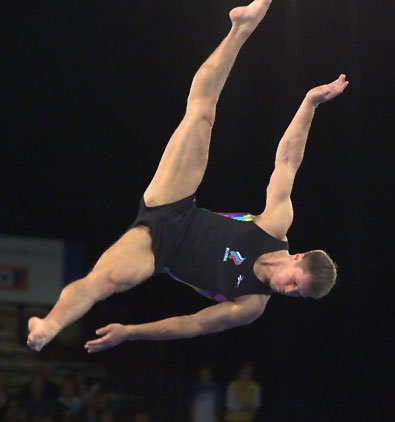 Olympic Athlete Aleksei Nemov