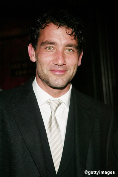 Academy Award Best Supporting Actor Nominee Clive Owen
