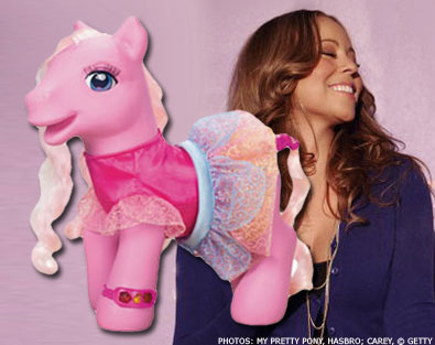 Mariah Carey Album or My Little Pony?