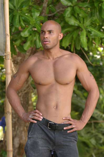 Survivor contestant Ibrehem Rahman