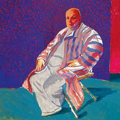 David Hockney Among Friends