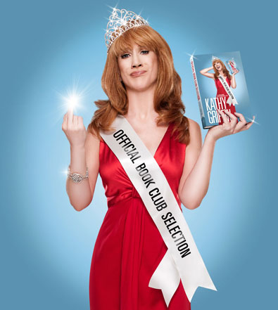 Kathy Griffin Gets Literary