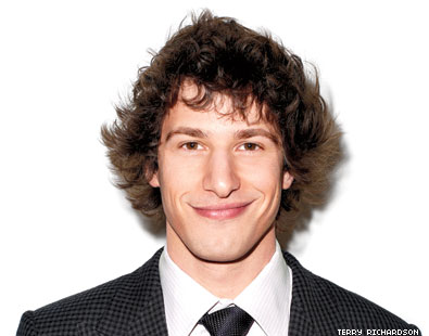 Andy Samberg Breaks Caricature