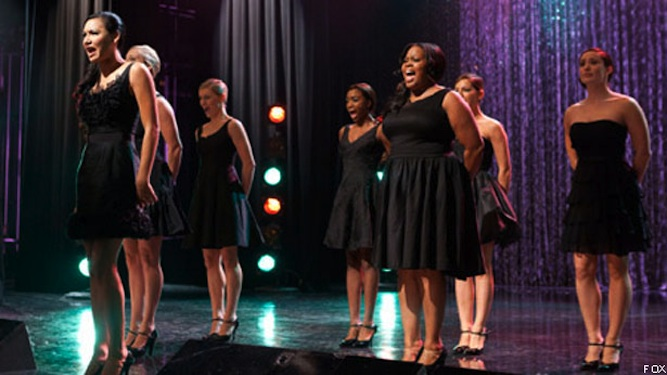 Glee: Last Night's All-Girl Mash-Off