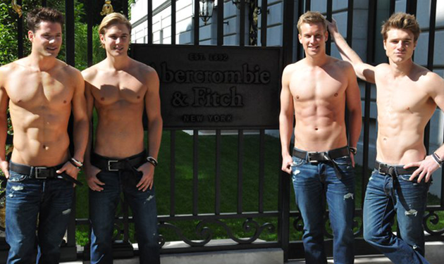 Abercrombie & Fitch Greeters Will Be Shirtless Models on Black Friday