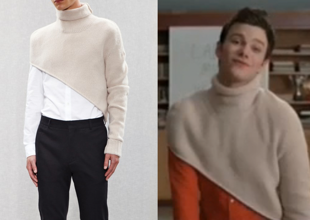 What He Wore: 'Glee' Gets Acne
