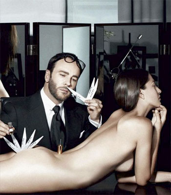 Pic of the Day: How Tom Ford Makes Perfume