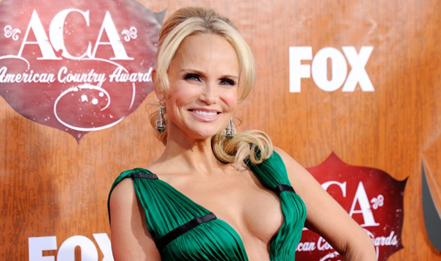 Pic of the Day: Kristen Chenoweth's Boobs Are Defying Gravity