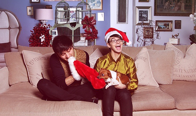 Christian Siriano's Fierce-Tranny-Fabulous Holiday Card