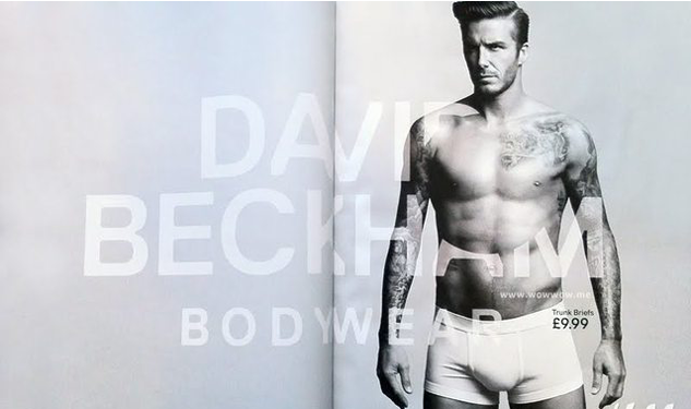 Pictures of David Beckham's H&M Bodywear Campaign Hit the Web