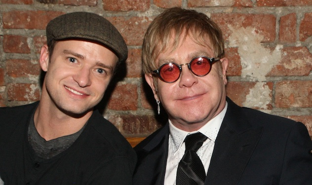Elton John Courts Justin Timberlake for Biopic