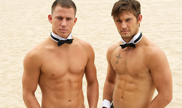 Pic of the Day: Channing Tatum and Alex Pettyfer Get Shirtless for 'Magic Mike'