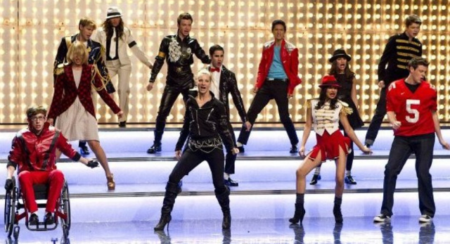 VIDEO: Glee Delivers A Michael Jackson Extravaganza