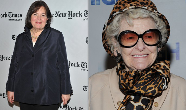 Happy Birthday to Ina Garten and Elaine Stritch