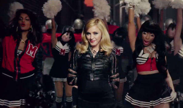 Madonna Releases Video for 'Give Me All Your Luvin''